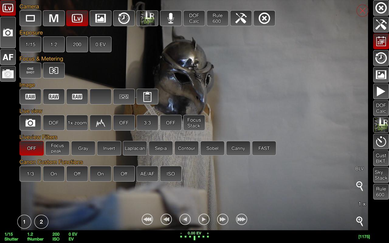 Canon 1Ds Mk III: no live view focus mode button - dslrdashboard info